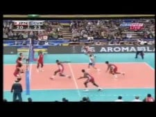 Robertlandy Simon 3rd meter spike (Japan - Cuba)