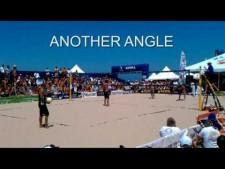 Highest volleyball serve