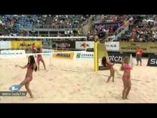 Beach Volleyball Cheerleaders - Bejing Grand Slam 2012
