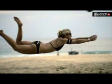 Slow Motion Beach Volleyball (Part 1)