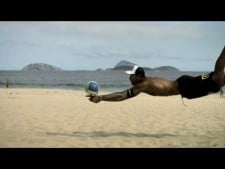 Slow Motion Beach Volleyball (Part 2)