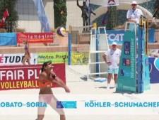 CEV Satellite Montpellier (Highlights, Day 4 - semi-finals)