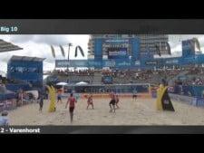Christiaan Varenhorst 10 blocks in one match