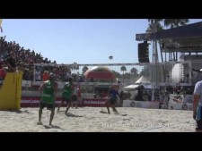 Mens Semi Final Dalhausser/Rosenthal vs Walkenhorst/Windsche