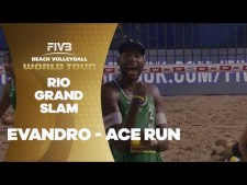 Ace after ace from incredible Evandro - Rio Grand Slam