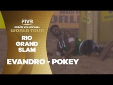 Magnificent pokey after a difficult pickup by Evandro