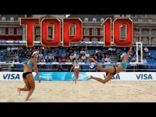 TOP10 Best beach volleyball rallies 2016