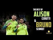 Alison Cerutti and Bruno Schmidt
