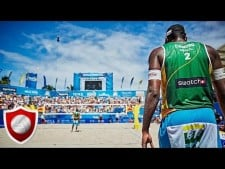 Beach Volleyball Slow Motion
