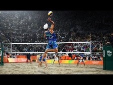 TOP 20 Crazy Actions Beach Volleyball