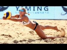 Gold Match WOMEN AUS vs POL (Higlights) | Beach Volleyball