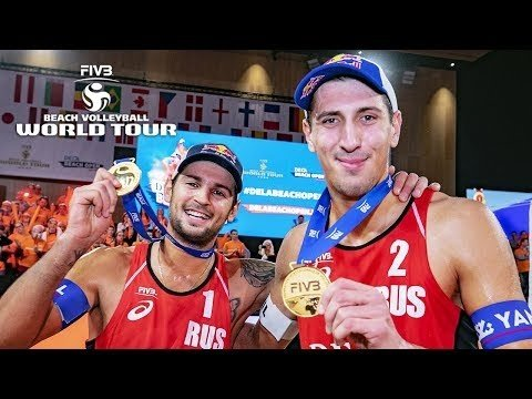 Men GOLD Beach Volleyball World Tour 2019
