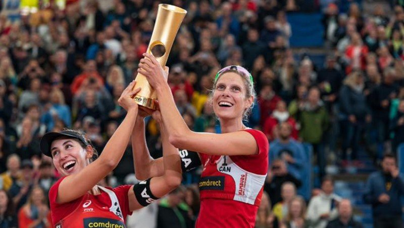 Canada earns spot in Olympics as Sarah Pavan, Humana-Paredes take beach volleyball gold